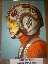MONDO RED FIVE 12X16 GICLEE LIMITED EDITION (MIKE MITCHELL) STAR WARS (OOP)