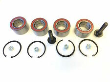 4 x VW T4 Transporter Caravelle 91-03 Front & Rear Wheel Bearing Repair Kit