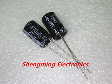 100PCS 470UF 25V Electrolytic Capacitor 25V470UF 8x12mm