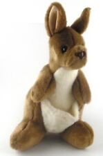 "Aussie Bush Toys All Plush KANGAROO Sydney Australia Stuffed Animal 11"" tall"