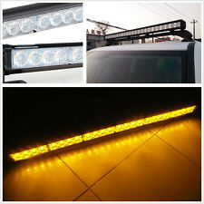 Waterproof 24LED Amber Car Traffic Advisor Hazard Strobe Light Bar Flashing Lamp