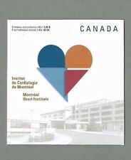 CANADA 2004 Booklet - MONTREAL HEART INSTITUTE (8 @ 49c) Complete  MNH
