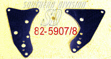 Triumph 650 unit rear engine plates 82-5907/8 F5907 F5908 Oldschool starrahmen