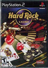 Hard Rock Casino  (Sony PlayStation 2, 2006) Factory Sealed