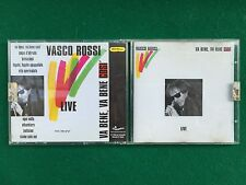(NO CD solo COVER + FOLDER) VASCO ROSSI - VA BENE VA BENE COSI' (1984) Gold Edit