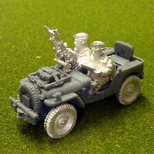 1st Corps 28mm WW2 British Paratroop Airborne Airlanded twin Vickers recce jeep