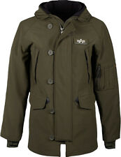 Alpha Industries Olive Drab Lightweight Soft Shell N-3B Winter Parka - X-Large