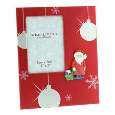 "Christmas Photo Frame Gift With 3D Santa - 2"" x 3"""