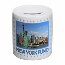 New York Fund Novelty Ceramic Money Box