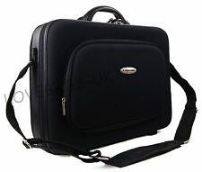 "High Quality 15"" 17"" Laptop Business Work Pilot Bag Case Briefcase Hand Luggage"
