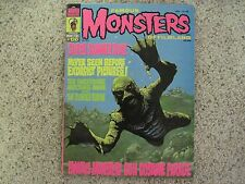 VINTAGE 1975 FAMOUS MONSTERS MAGAZINE 120  SIGNED BY FORREST J ACKERMAN NR