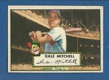 1952 Topps # 92 Dale Mitchell Cleve. Indians EX+ SET BREAK additional ship free