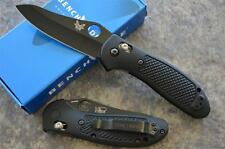 "Benchmade 550BKHG Griptilian w/ 154CM Hollow Ground Black Blade ""Made in USA"""