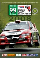 British Rally Championship - Official review 2008 (New DVD) Higgins Wilks