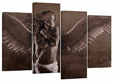 "Sexy angle/fantasy/fairy/set of 4 new canvas split prints/ 32""x 20"""