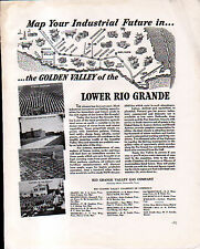 1941 RIO GRANDE VALLEY GAS CO AD- LOWER RIO GRANDE