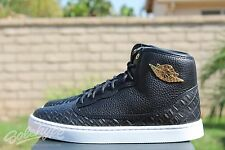NIKE AIR JORDAN JASMINE GG SZ 7 Y BLACK METALLIC GOLD WHITE 768927 035