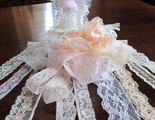 Vintage Lace Bundle 10 Metres of Soft Pastel and Natural Vintage lace Assortment