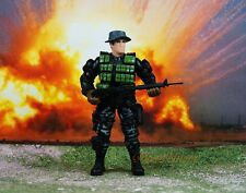 Chap Mei 1:18 Soldier Force 3.75 GI Joe Figure US SEAL Marine Operation K1044_B