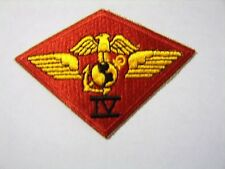USMC 4th MARINE AIR WING PATCH CURRENT MANUFACTURER:K6