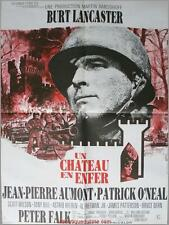 UN CHATEAU EN ENFER Castle Keep Affiche Cinéma / Movie Poster Sydney Pollack