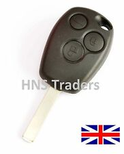NEW Renault Clio Modus Laguna Megane 3 Button remote key FOB shell + LOGO