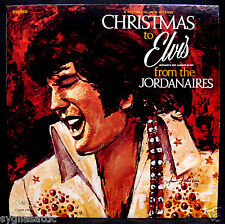 ELVIS PRESLEY-CHRISTMAS TO ELVIS FROM THE JORDANAIRES-Christmas Album-CLASSIC