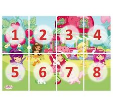 Photo wall mural STRAWBERRY SHORTCAKE 400cmx280cm Wallpaper Wall art Wall decor