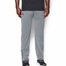 UNDER ARMOUR Mens Tapered Tech Pants XL Steel Grey HeatGear Loose Fit New $45