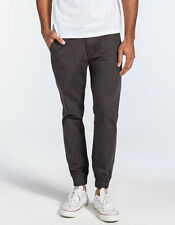 Levi's Chino Jogger Pants Men's Gray Stretch Elastic Cuff Size 38x32
