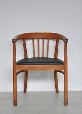 Jugendstil Art Deco Sessel Schreibtischstuhl Schreibtischsessel Armlehnstuhl