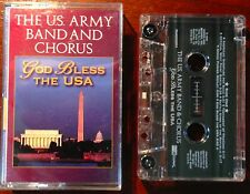 God Bless The USA by The U.S. Army Band & Chorus Cassette