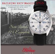 OROLOGIO PERSEO CRONO AUTOMATICO RAILKING 24Maggio1915 SERIE LIMITATA 124 PEZZI