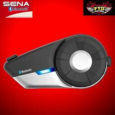 Sena 20S-01 Motorcycle Bluetooth 4.1 Communication System Single  NEW!