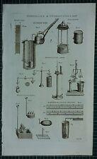 1786 print hydraulique & hydrostatique hungarin machine hydromantic hydrostatical