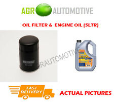 DIESEL OIL FILTER + LL 5W30 ENGINE OIL FOR TOYOTA COROLLA 1.4 90 BHP 2007-08