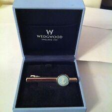 Pin Corbata Para Hombre Wedgwood Jasperware azul diseño de ancla de camafeo
