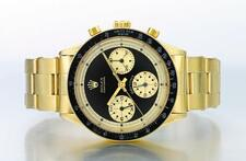 ROLEX | A RARE YELLOW GOLD CHRONOGRAPH WRISTWATCH WITH REGISTERS AND BRACELET...