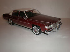 1/18 Bos Models 1982 Cadillac Fleetwood Brugham red LE of 1000