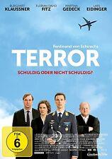 TERROR  DVD NEU  MARTINA GEDECK/FLORIAN DAVID FITZ/BURGHART KLAUßNER/+