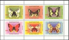 Kyrgyzstan 1998 Butterflies/Insects/Nature/Conservation/Butterfly 6v sht (b6684)