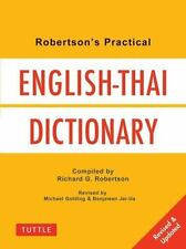 Robertson's Practical English-Thai Dictionary (Tuttle Language Library-ExLibrary
