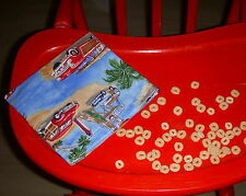 Reusable Snack Sandwich Food Storage Bag Small Objects Pouch - Ocean Beach Cars