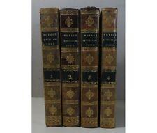 COXE Voyage en Pologne, Russie, Suède, Dannemarc 4/4 1ère Ed Barde, Manget 1786