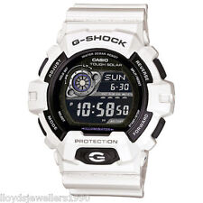 CASIO G-SHOCK GR-8900A-7ER White Tough-Solar Auto-Calendar Timer Watch RRP £120