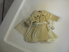 "12"" ideal shirley temple doll White raincoat set and ST PIN  Free Ship in US"