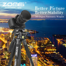 Z666 Professional Aluminium Travel Tripod +Pan Head Stand for Digital Camera
