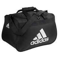 NWT ADIDAS DIABLO SMALL DUFFEL Gym Bag For Women/Men/Big Boy Classic Black/White