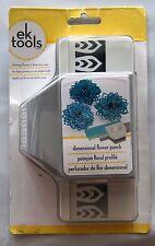 EK Tools Paper dimensional flower edge punch 2-in-1 54-51006 5451006 NEW