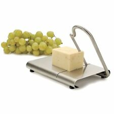 Cheese board and slicer stainless steel